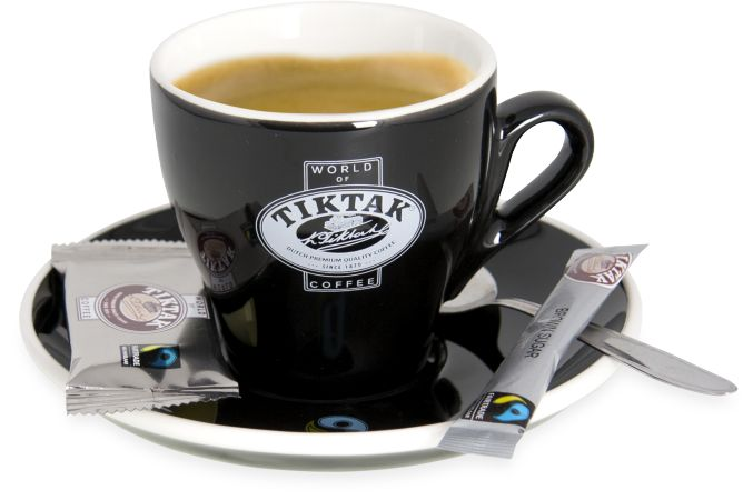 Perfect Kop Koffie Tiktak Thee